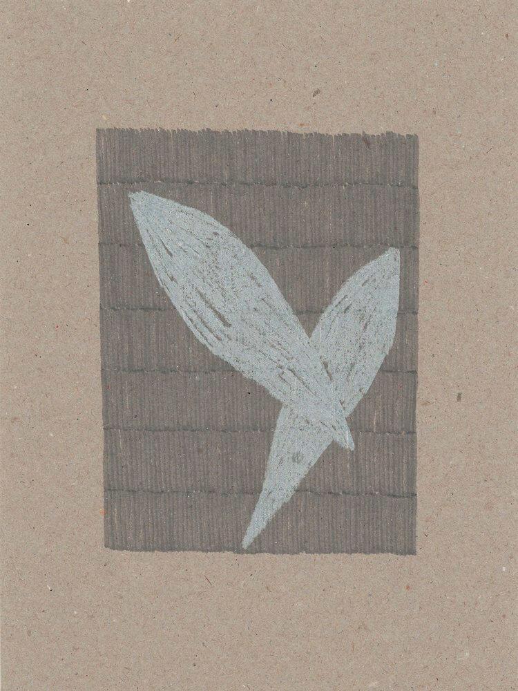 Spindel / Buntstift, wasserbasierte Farbstofftinte auf Papier / 180 x 240 mm, 160 x 240 mm / 2016