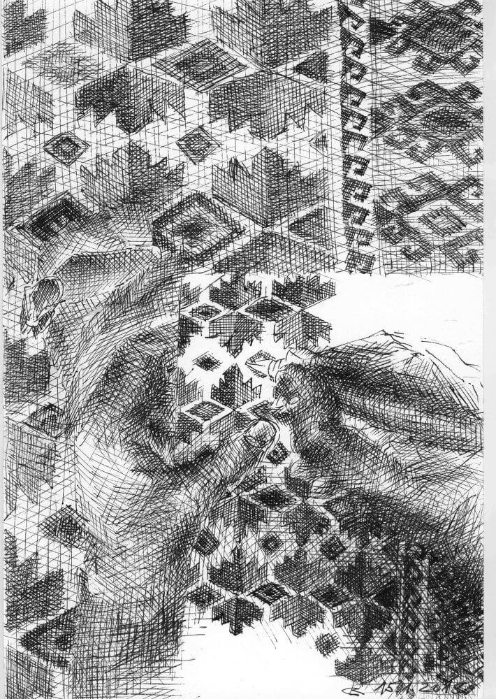 Ruth Loibl: Wohnung und Garten, 1, 2015
