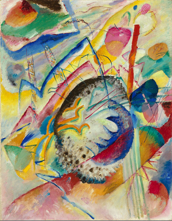 Wassily Kandinsky, Große Studie (Unbekannte Improvisation 2), 1914, Öl auf Leinwand, 100,5 x 79 cm, Rotterdam, Museum Boijmans van Beuningen