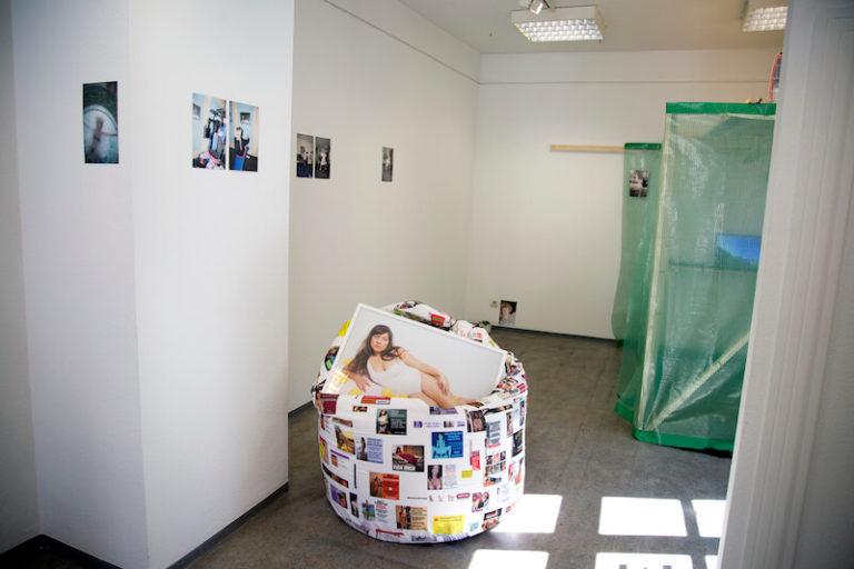 Claudia Holzinger und Lilly Urbat im Kunstverein Erlangen