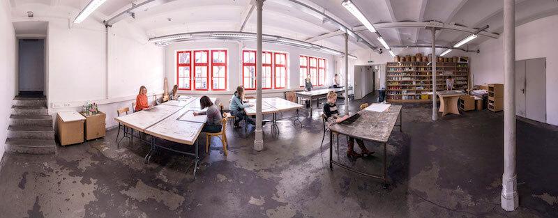 Akademie Faber-Castell, Malerwerkstatt, Foto: Jan Rygl