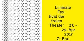 LIMINALE – Festival der freien Theater, 27. – 29. April 2017, Z-Bau Nürnberg, Grafik: Philipp Dittmar