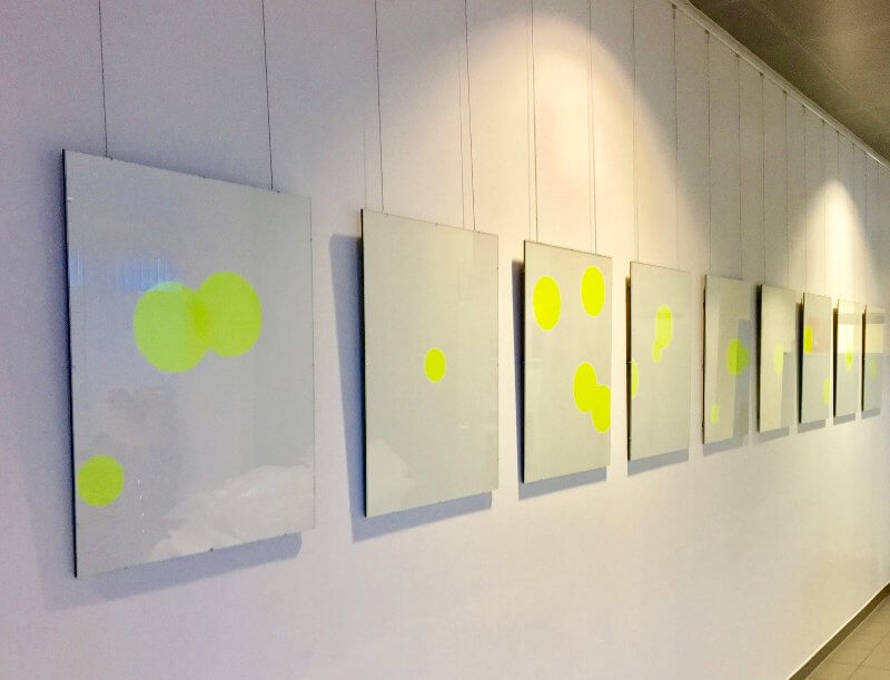 Eva Breitfuß: Kunst im industriellen Umfeld, 2017 Baumüller Group Nürnberg