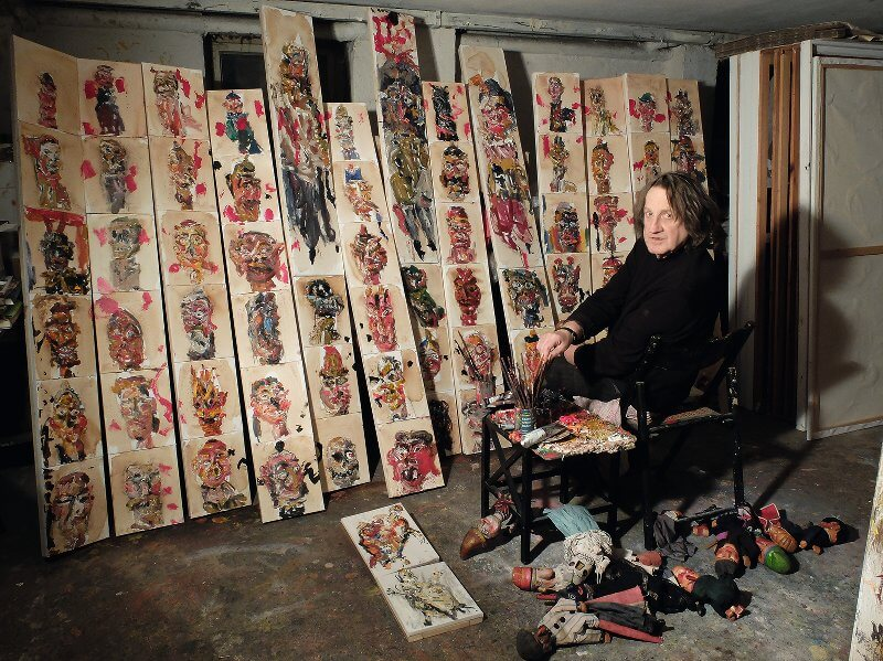 Hartwig Ebersbach, Foto: Monika Ebersbach, Galerie LS Nürnberg
