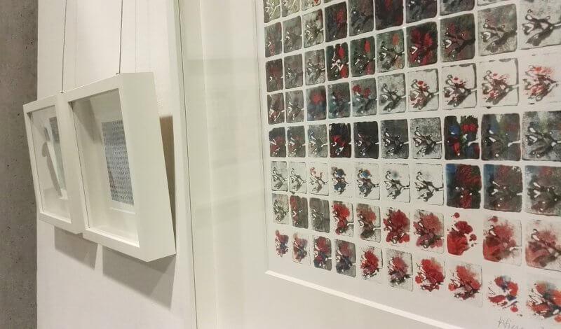 Mandy Wiesner, Darmstadt, Foyergalerie