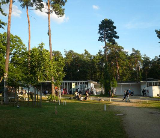 Der Campus der AdBK Nürnberg zur Jahresausstellung 2016, Juli 2016.