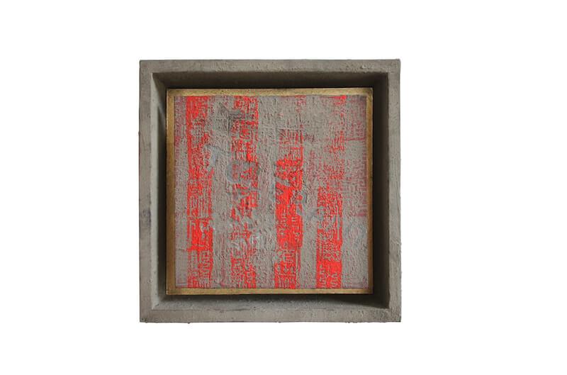 Annie Kuschel. Fenster, 10 im Zeichen des Hahns, kunst galerie fürth