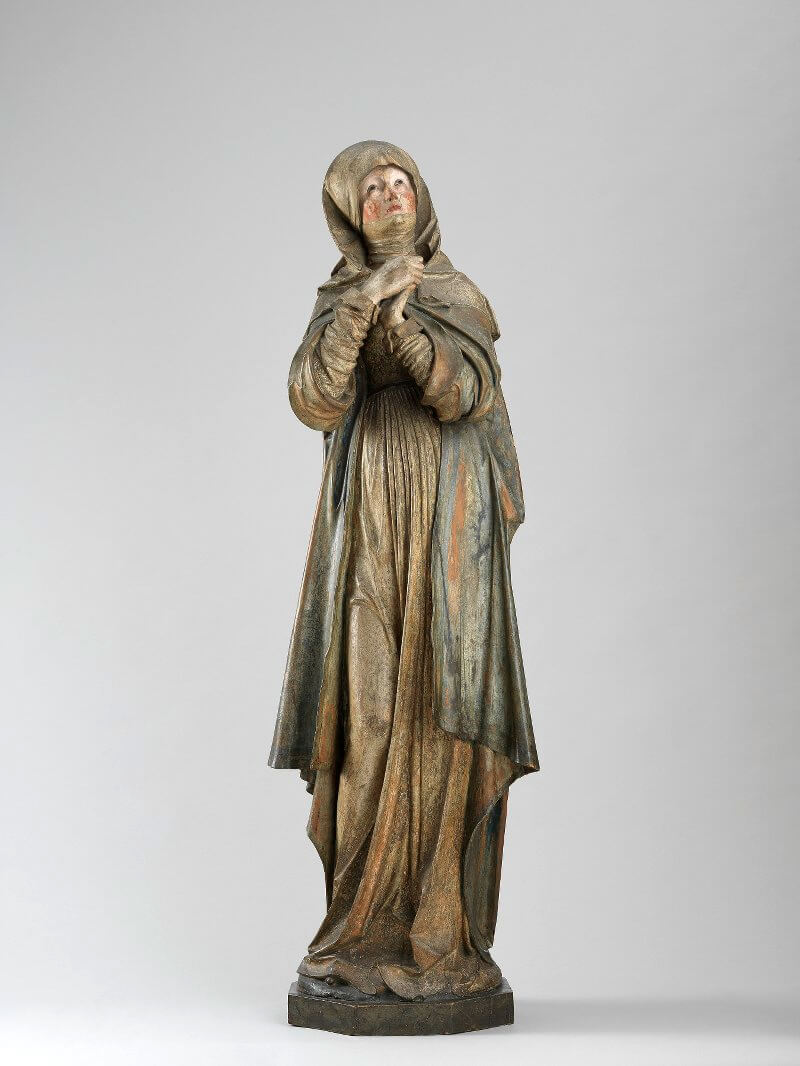 Die Nürnberger Madonna, um 1510 Lindenholz 148 cm hoch (ohne Sockel) Germanisches Nationalmuseum, Nürnberg Dauerleihgabe der Stadt Nürnberg