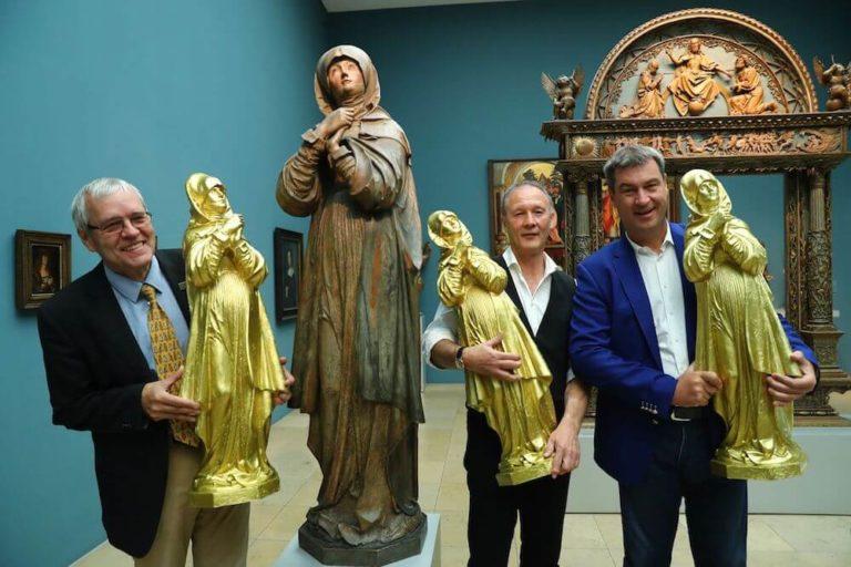 Ottmar Hörl: Die Nürnberger Madonna