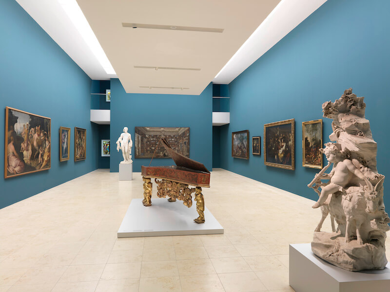 "Blick in den Manieristensaal in der Dauerausstellung ""Renaissance, Barock, Aufklärung"" Foto: GNM, Georg Janßen"
