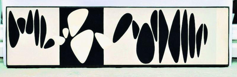 VictorVasarely, Belle îsle Meaux 1, 19491952, Öl auf Lwd., 23,6 x 86,7 cm, Standort und Foto Galerie Lahumière, Paris, © VG Bild-Kunst, Bonn 2017.jpg