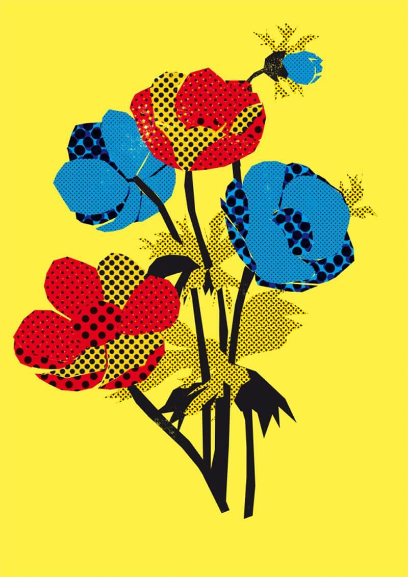 Dorothea Pluta: freie Arbeit/flowers