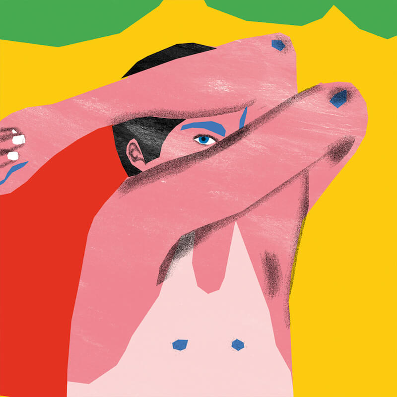 Dorothea Pluta: freie Arbeit / shy guy