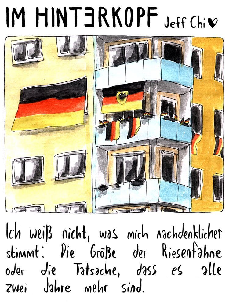 Jeff Chi: Zeitungscartoon vom 02.07.2016
