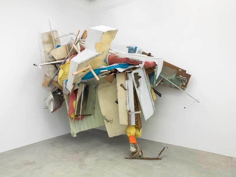 "Peter Buggenhout, ""On Hold#3"", 2015 Installationsansicht Konrad Fischer Galerie, Berlin · © Roman März"