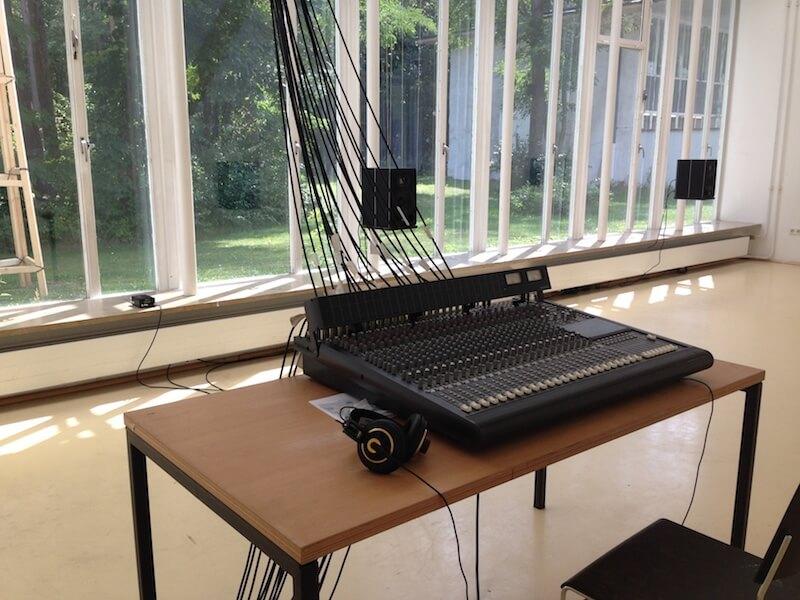 Mischpult, Dynamisches Radio, Projektklasse für interaktive Medien und dynamische Akustik, 2017