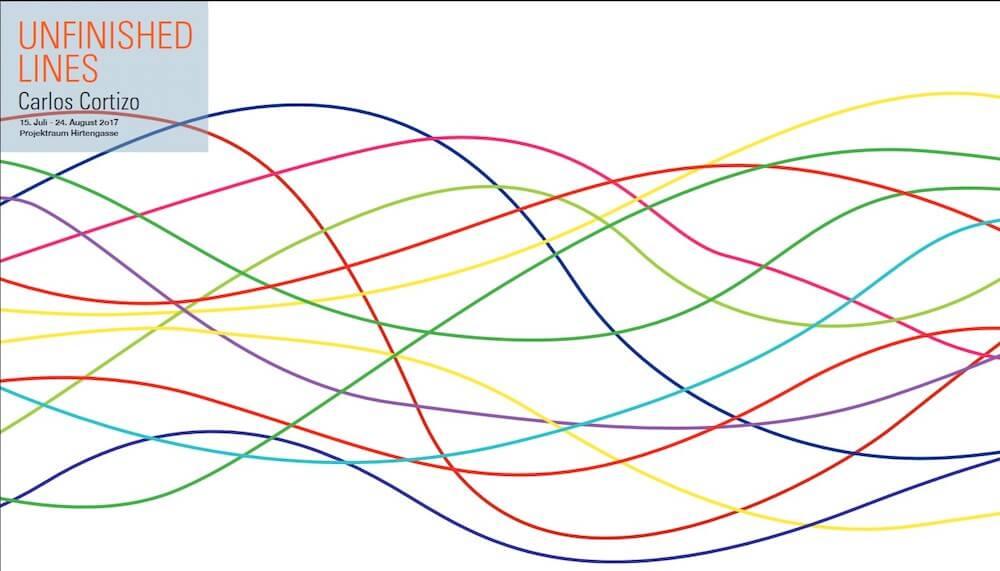 Carlos Cortizo: Unfinished Lines, Ausstellung BBK Projektraum Hirtengasse, Nürnberg