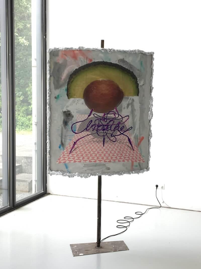 Fabian Bertelshofer, o. T. (anotherlamp), painting/sculpture/lamp
