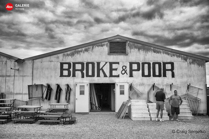 BROKE & POOR, Craig Semetko in der Leica Galerie Nürnberg