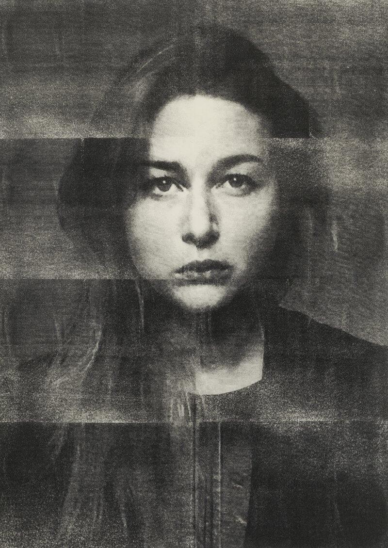 Selbst, 2015, 104 cm x 143 cm, Digitale Collage aus Riso-Drucken, © Meike Männel
