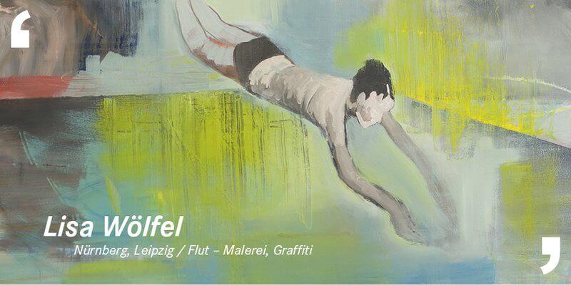 "Lisa Wölfel: Ausstellung ""Flut"", 2017, Galerie im Bonifatiusturm"