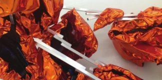 Elizabeth Thallauer Lucid, 2016 Polyvinylchlorid, Aliminium, Akryl 200 x 150 x 150 cm