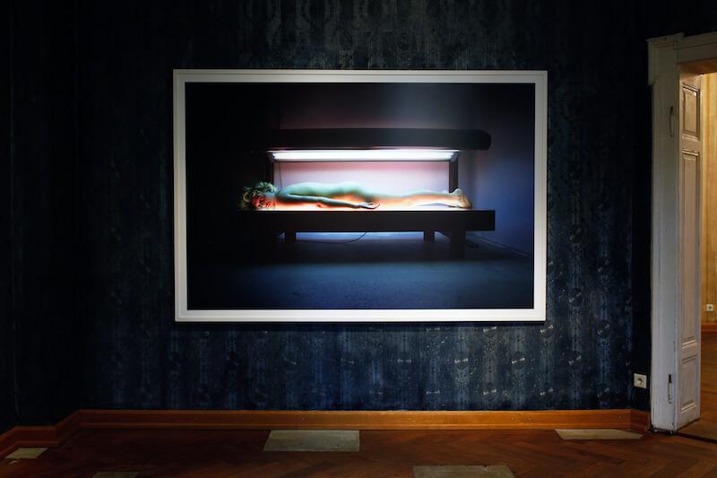 Miracle Macho, Michael Ullrich und Marco Stanke, Malerei, Fotografie, Objekte, 15.09. – 10.11. 2017; Foto: Michael Ullrich