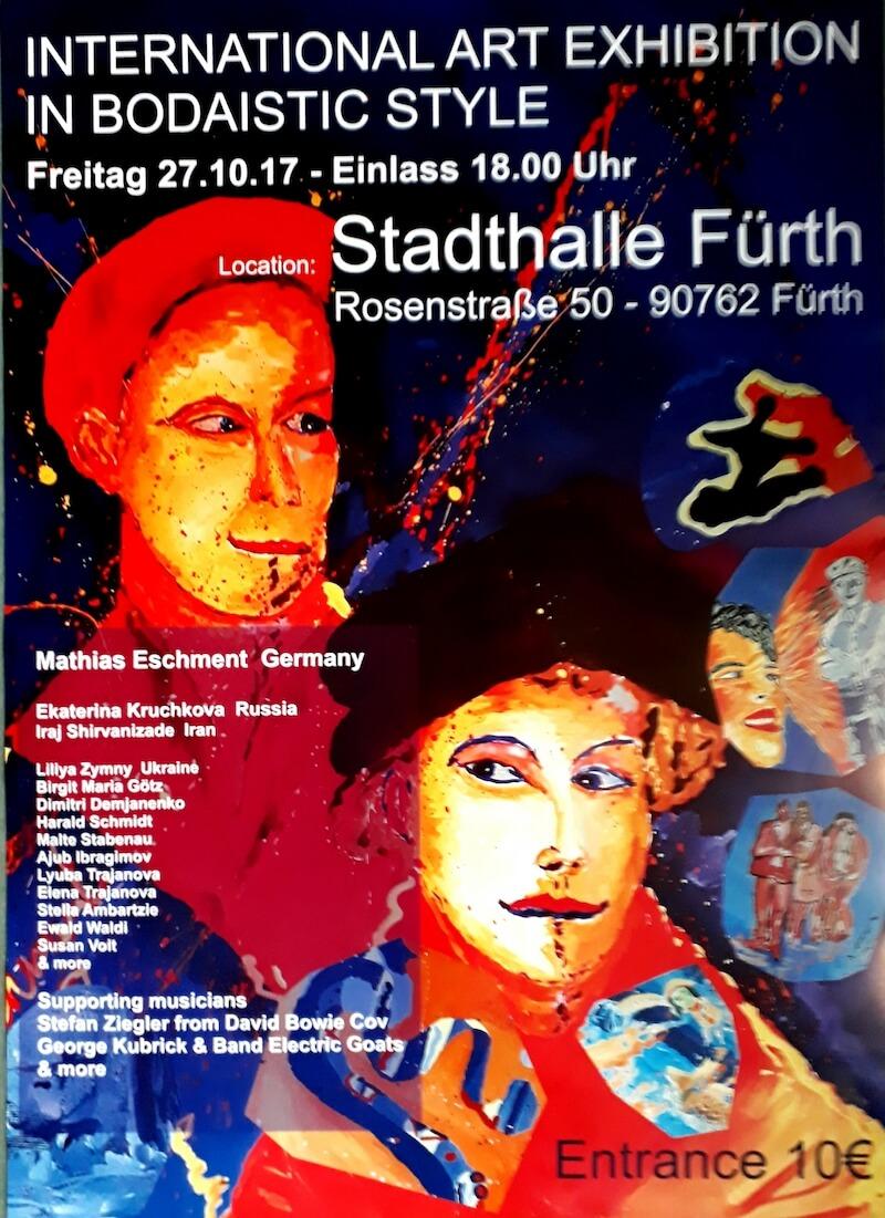 International Art Exhibition in Bodaistic Style, Stadthalle Fürth, 2017