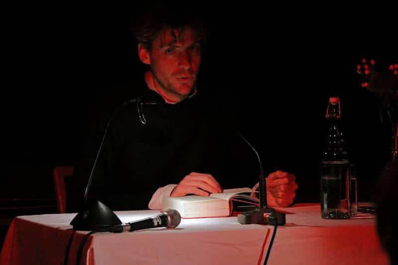Roman Ehrlich, Lesung im Z-Bau Nürnberg, 12.12.2017