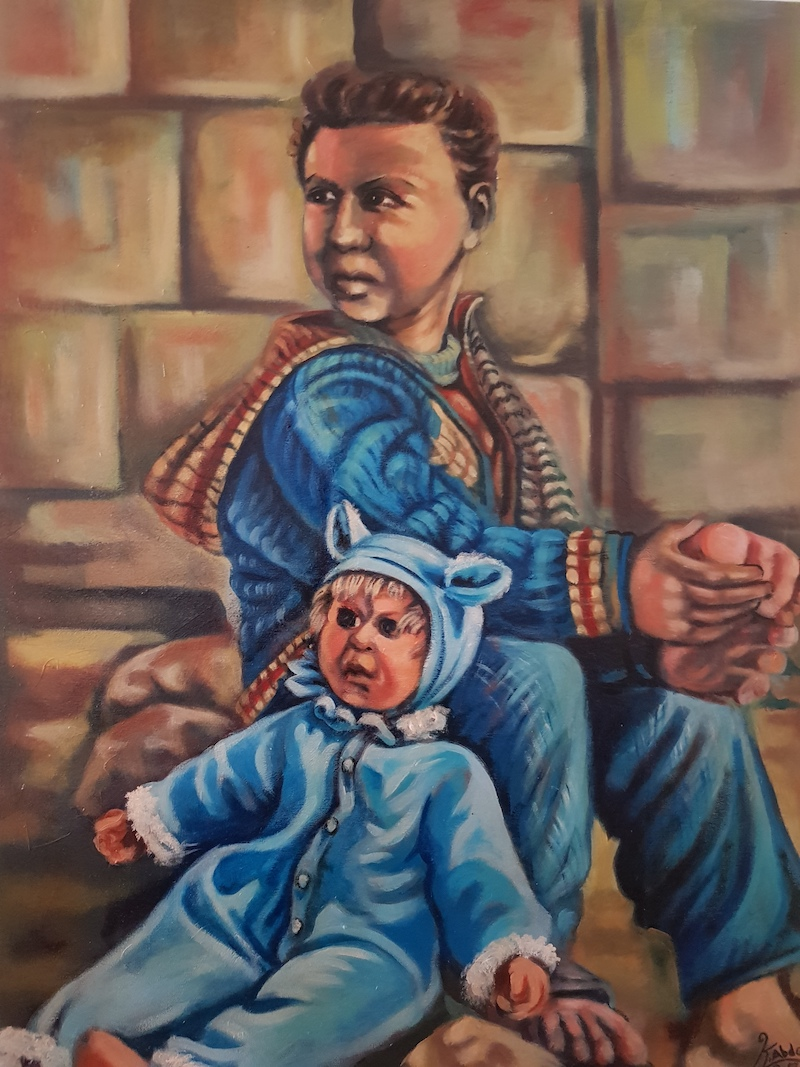 Khaleb Abdo: Kindheit verloren