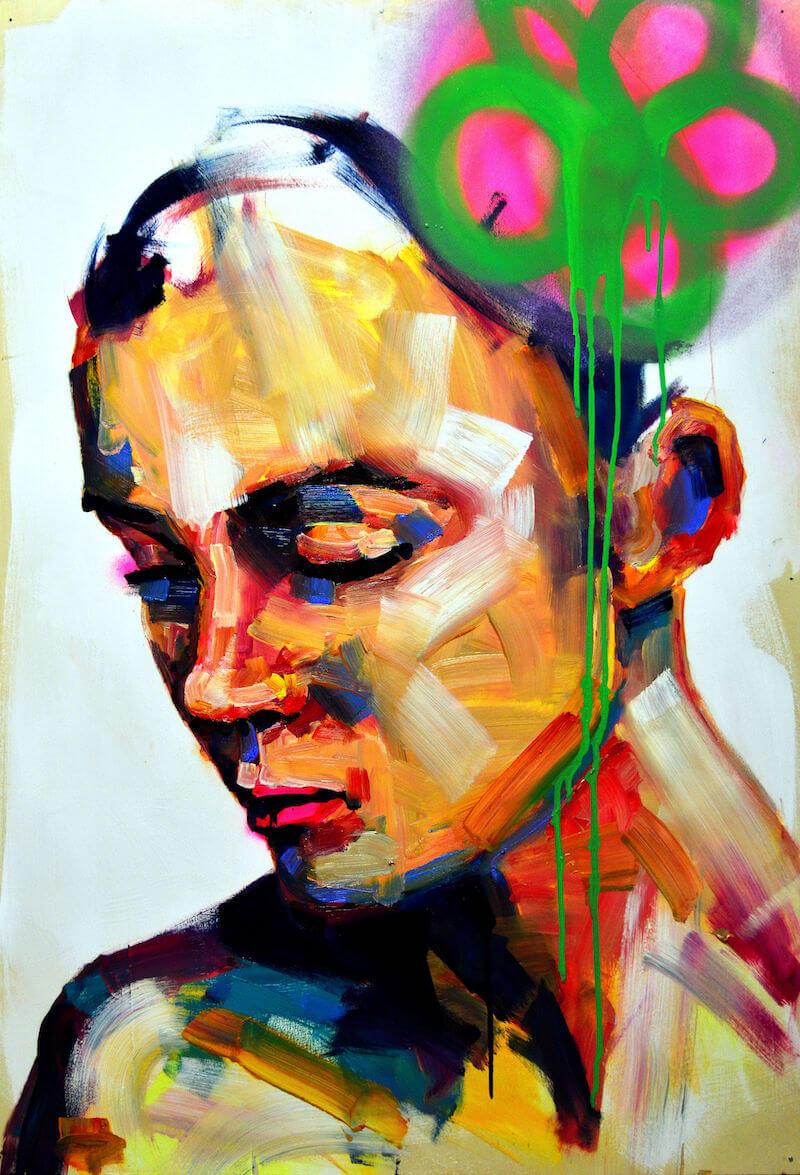 BAUDELAIRE, 2017, 100 x 70, © Francesco Neo