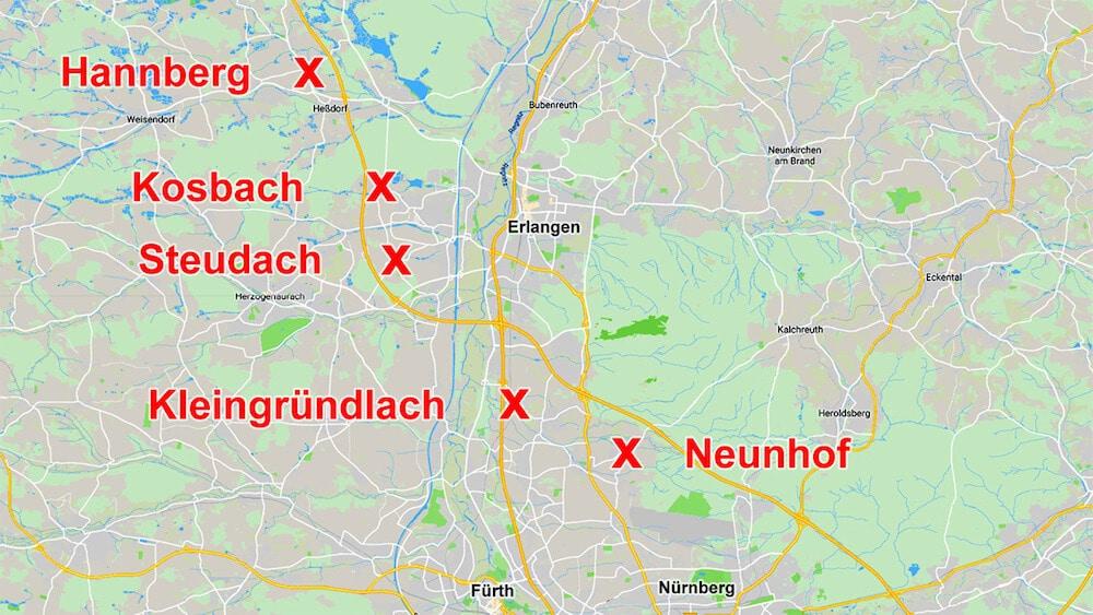 Karte, Foto: Rainer Schulz