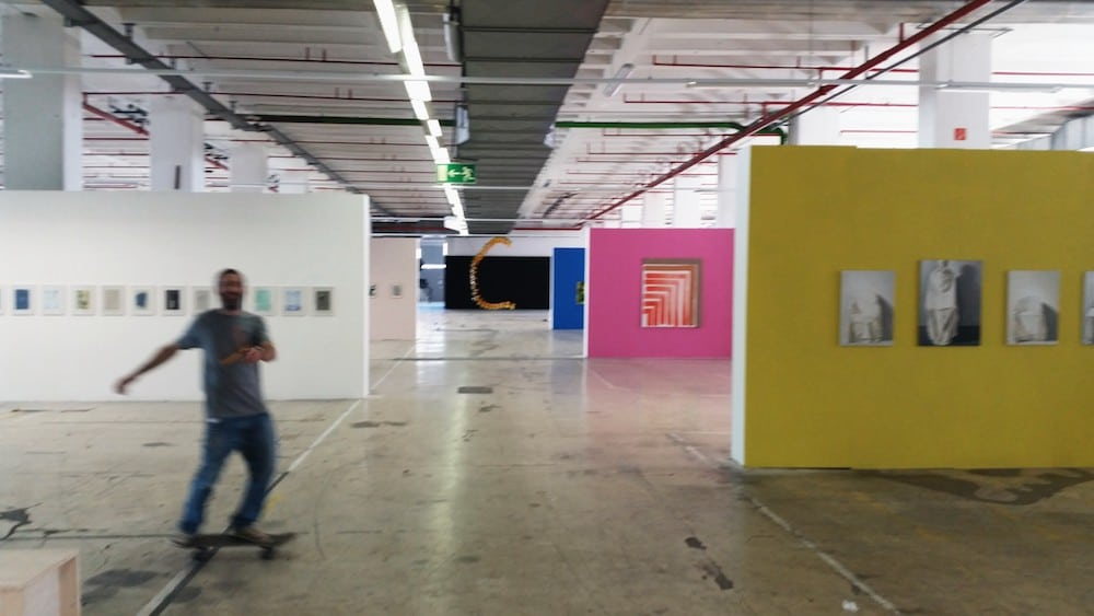 Werkschau 2018, Auf AEG Ausstellungsansicht, © Axel Gercke, 2018