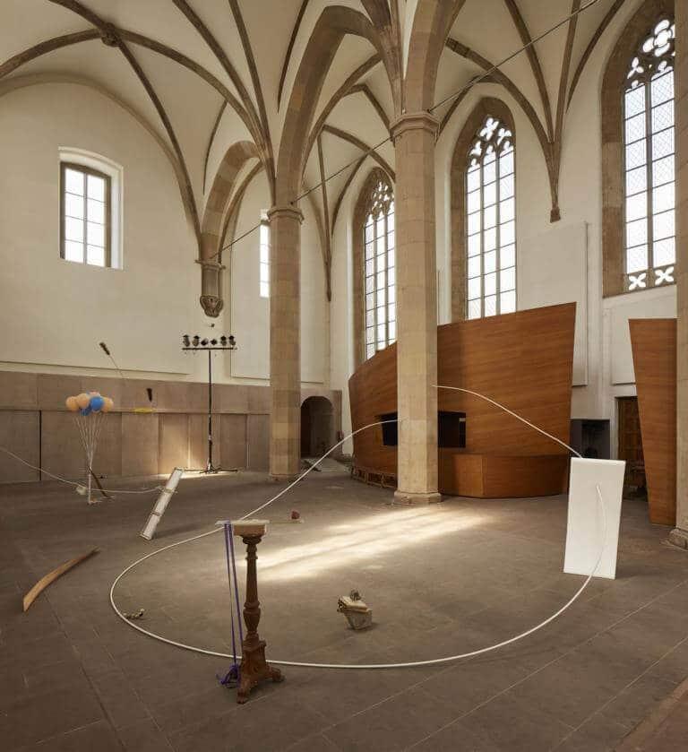 """Rosa Violetta Grötsch: Installation """"amsterdamse uitjes"""", © Nicolas Wefers"""