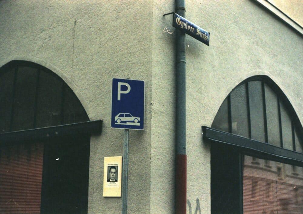 Rechercheprojekt NSU-Komplex: Tatort Siemensstrafle-Gyulaer Strafle im Jahr 2016 (Abdurrahim Özüdoğru, am 13.6.2001 in Nürnberg von Nazis ermordet.), Fotografie