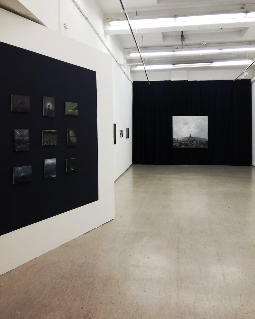 Ausstellungsansicht Kohlenhof, Foto: Jan Gemeinhardt