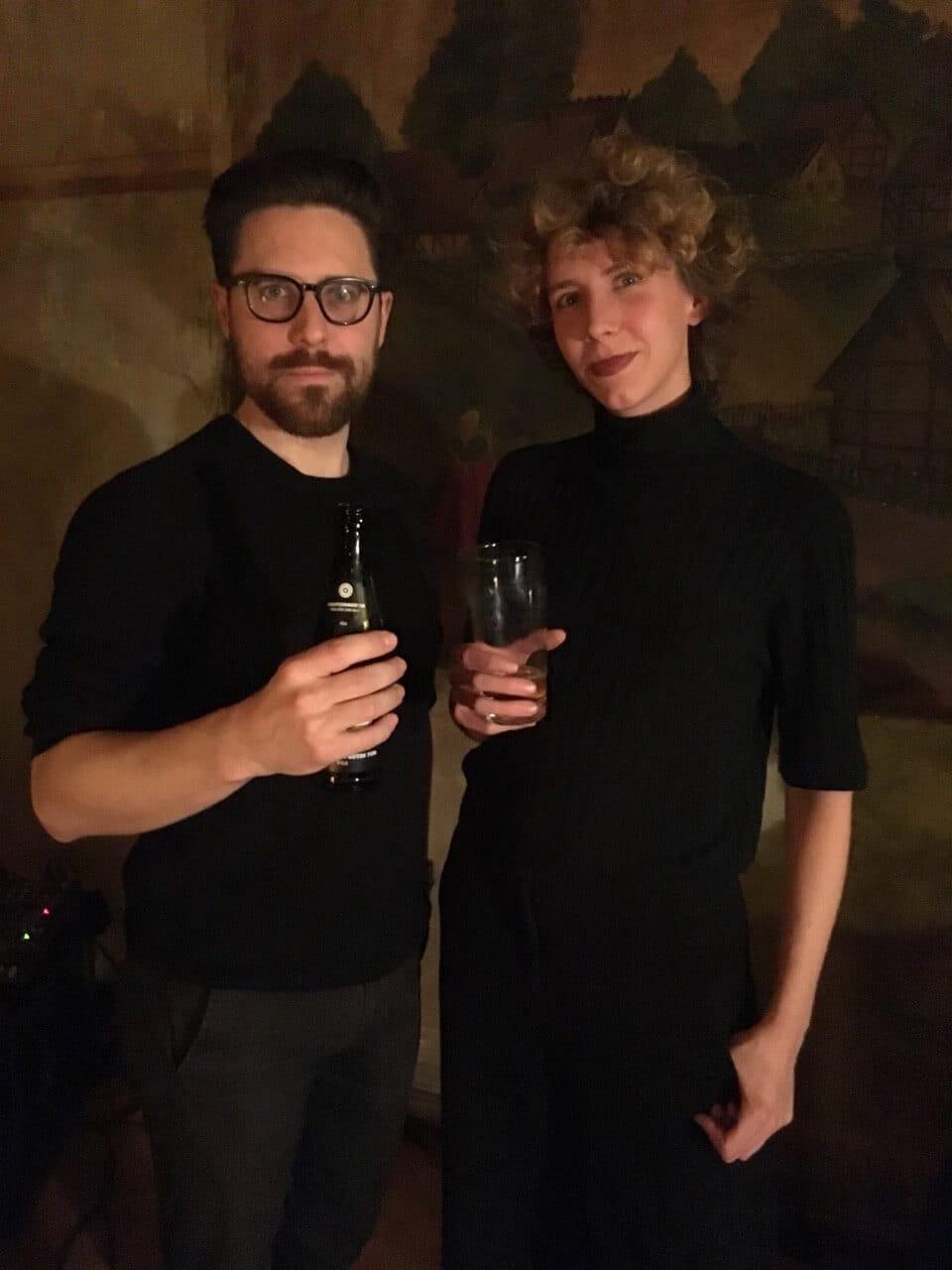 Lara Sielmann und Tillmann Severin
