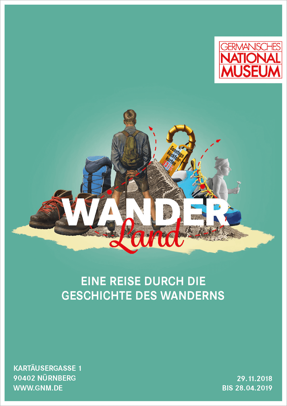 Wanderland, Germanisches Nationalmuseum Nürnberg
