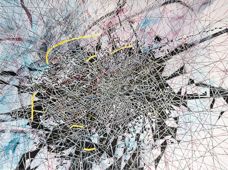 Renata Jaworska, Serie Karten und Gebiete, 2018