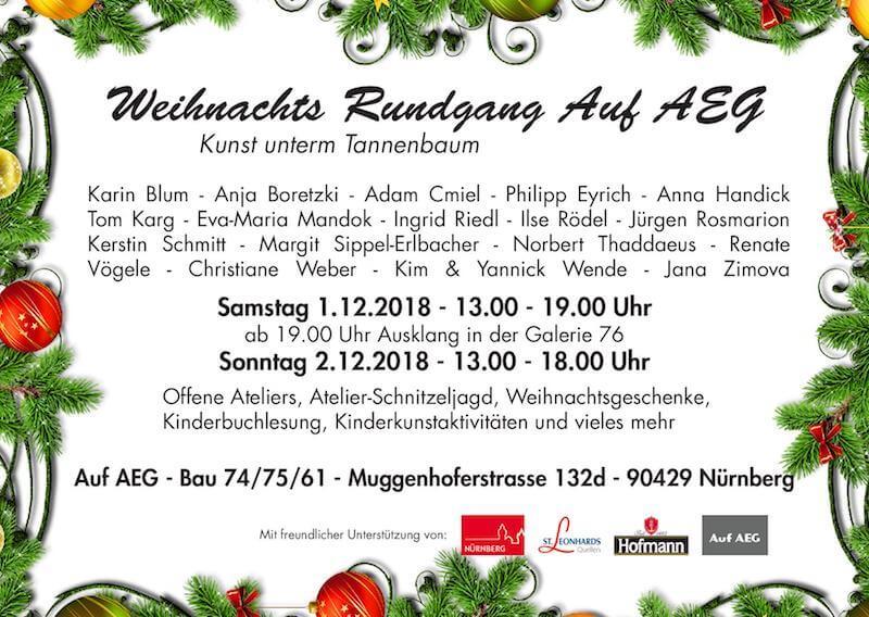 Weihnachtsrundgang Auf AEG, 2018