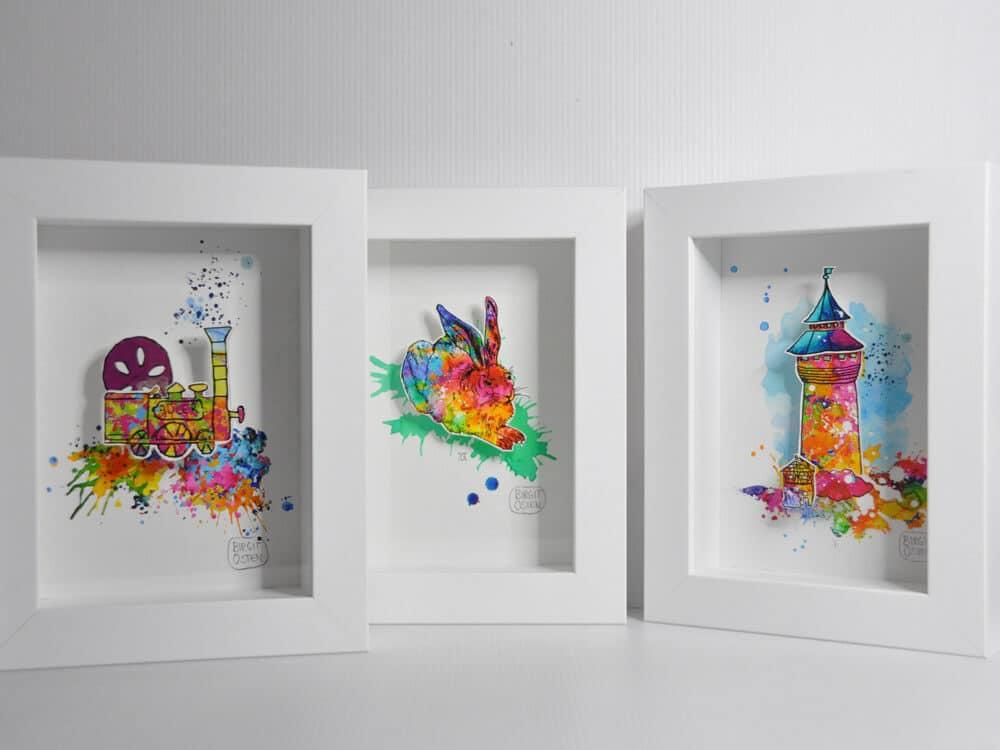 "3D CityArt ""Minis"", © Birgit Osten"