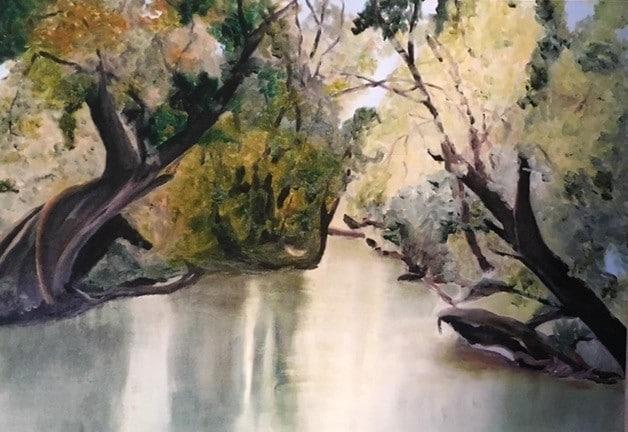 Edda Böhm: Am alten Kanal