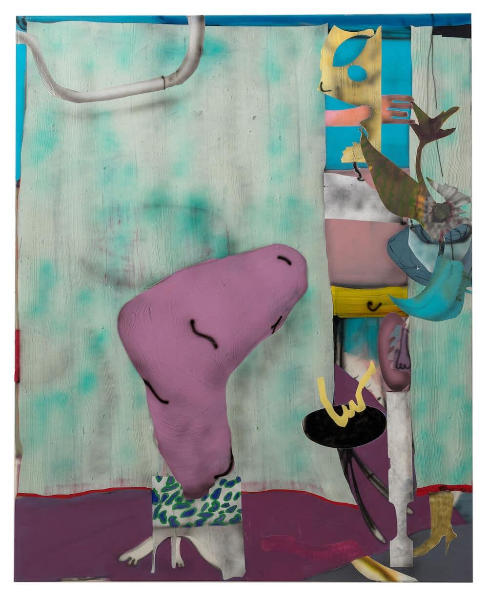 Fabian Treiber:Marlene, 2018, 190 x 145 cm, (c) Künstler und Gallery KANT Copenhaben