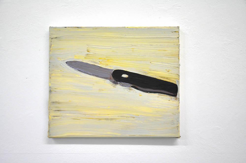 Christian Hiegle, o.T., 2018, Öl auf Leinwand, 30x35 cm