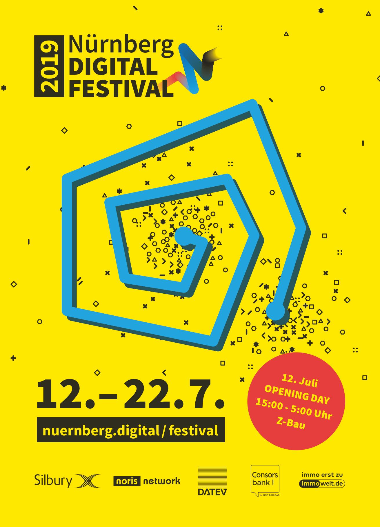 Nürnberg Digital Festival 12. bis 22.7.2019