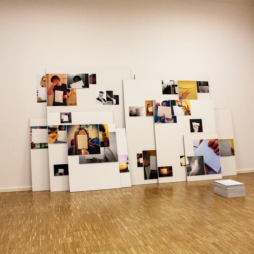 "Ausstellung ""News Flash"" im KunstKulturQuartier. Foto: @ Simona Leyzerovich / Nürnberg Digital Festival"