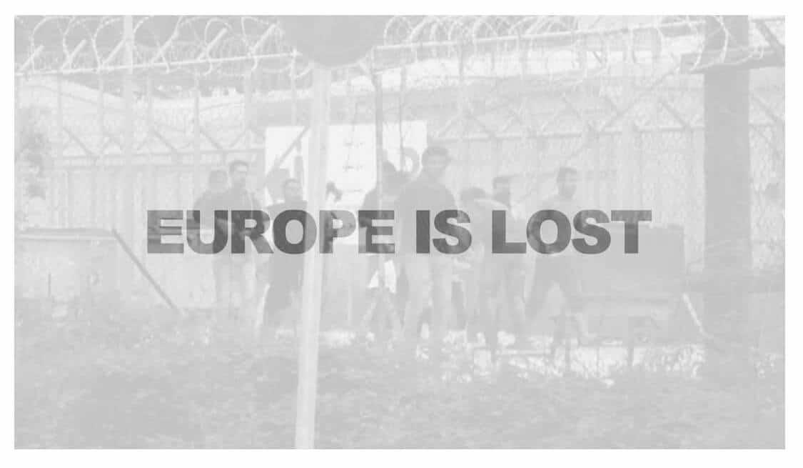 """Europe is lost"", Jonas Höschl, Kunsttermine 10"