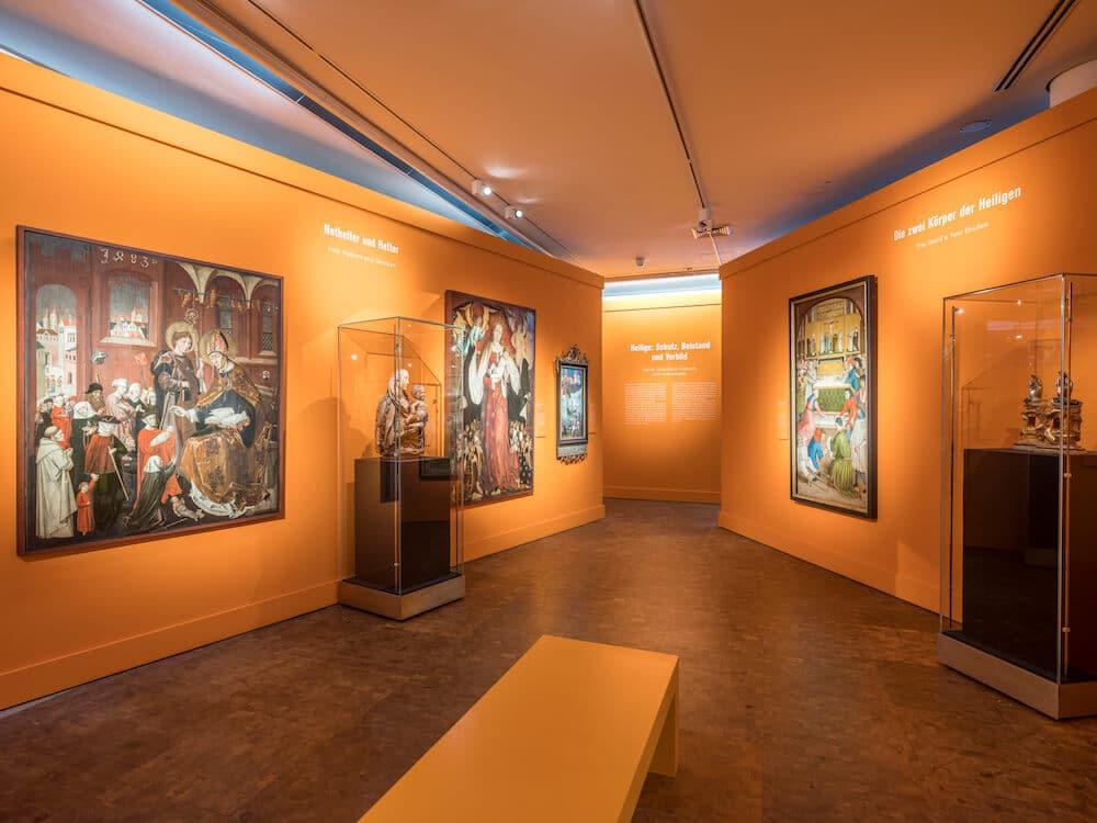 Helden, Märtyrer, Heilige. Wege ins Paradies, 11.04.2019 – 4.10.2020, Ausstellungsansicht, © GNM