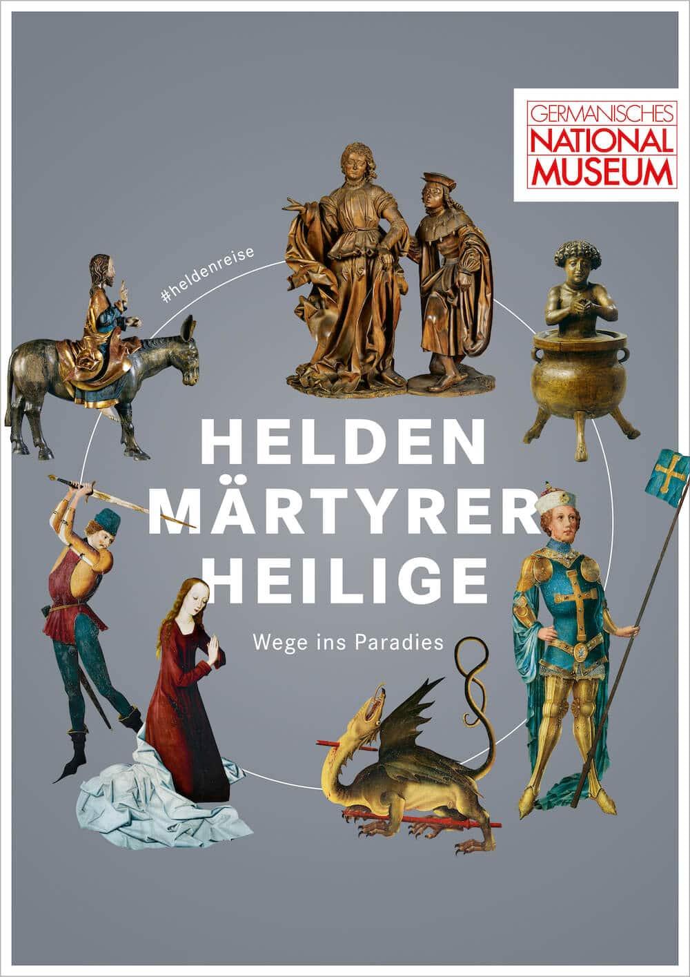 Helden, Märtyrer, Heilige. Wege ins Paradies, 11.04.2019 – 4.10.2020, © GNM