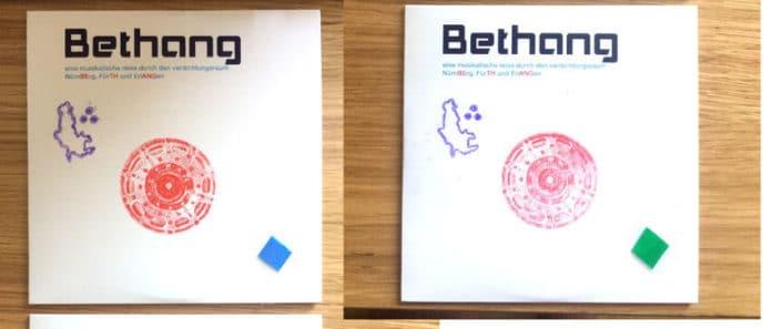 BETHANG, Die neue CD von Karsten Neumann und Ernst Schultz